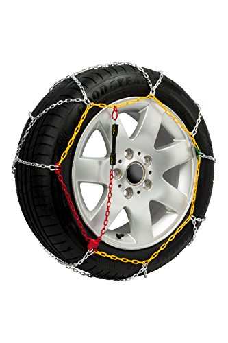 Goodyear GODKN110 Metal snow chains. 9mm, Set of 2. Size T110, T.110