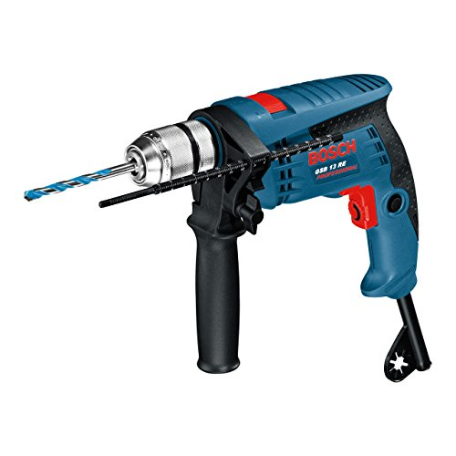 Bosch Professional 601217170 GSB 13 RE Corded 240 V Impact Drill, Navy Blue