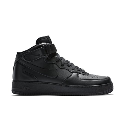 Nike Air Force 1Mid '07Men's Trainers black Size: 8.5 UK