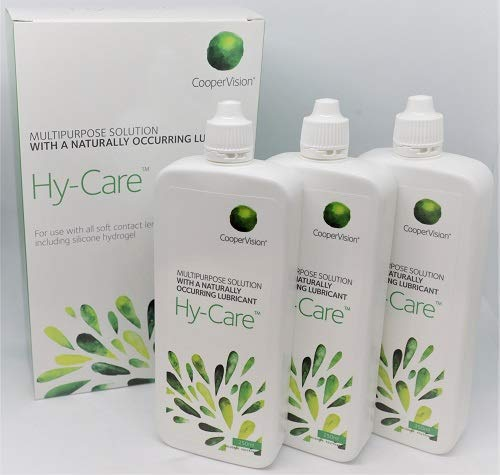 CooperVision Hy-Care multipurpose contact lens solution 3 x 250ml