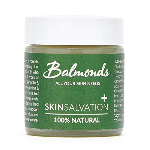 Balmonds Skin Salvation Eczema Cream 30ml - Eczema, Psoriasis and Dermatitis Ointment for Babies, Children and Adults - Made in UK