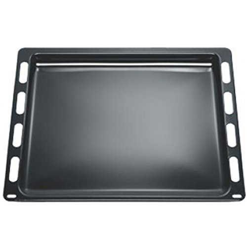 SPARES2GO Enamel Baking Drip Tray for Neff Oven Cooker (441 x 370 x 22mm)