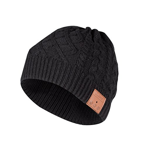 Bluetooth Beanie Hat Bluetooh 5.0 Headphone blueear Wireless Winter Knit Hats with Stereo Speaker and MIC,Gifts for Birthday,Christmas,Thanksgiving Day