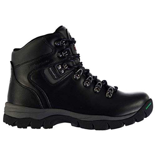 Karrimor Womens Skiddaw Walking Boots Lace Up Waterproof Breathable Shoes Black UK 8 (42)