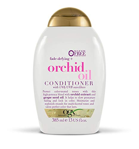OGX Orchid Oil Colour Conditioner for Coloured Hair and for Blonde Hair 385 ml