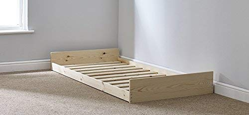 Strictly Beds and Bunks - Leo Trundle Pull-out Guest Bed, 3ft Single