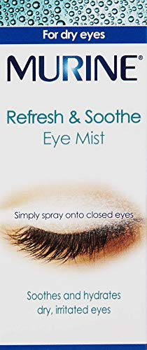 Murine Refresh & Soothe Eye Mist to Soothe and Hydrate Dry Eyes, 15 ml