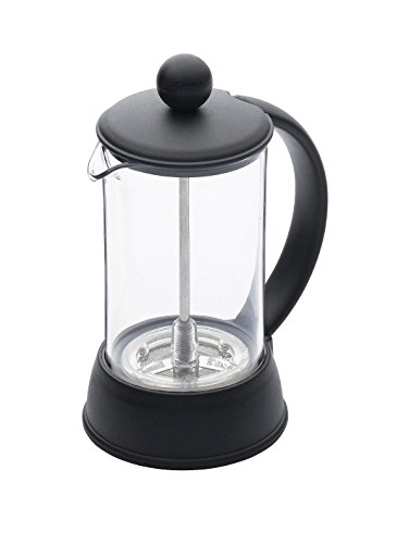 KitchenCraft Le'Xpress Small Cafetiere French Press Coffee Maker with Heat Resistant Plastic Jug, 3 Cup (350 ml)
