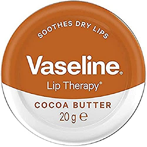 Vaseline Lip Therapy Cocoa Butter Tin, 20g