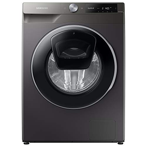 Samsung Series 6 WW90T684DLN/S1 with AddWash™ and Auto Dose Freestanding Washing Machine, 9 kg 1400 rpm, Graphite, A Rated, Decibel rating: 53, EU Acoustic Class: A