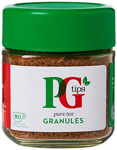 PG Tips 100% Natural Pure Tea Granules, Large Pack of 420 Cups Of Tea, Perfect For Families And Tea Lovers For All Occasions, Home, Catering And Office (6 x 80 servings)
