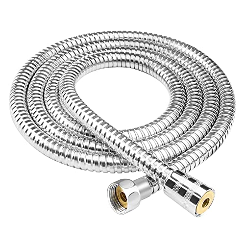 Shower Hose 2m Extra Long Shower Hose Chrome Replacement Metal Shower Pipe Cable 79 Inchs