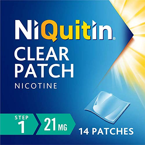 NiQuitin Clear 24 Hour 14 Patches Step 1, 21 mg - 2 Week Kit