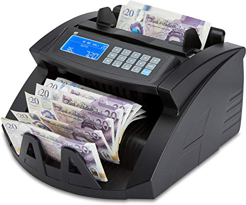 The ZZap NC20 Banknote Counter - Counts 1000 banknotes per Minute, Batch Counting, Counts All World Currencies and More!