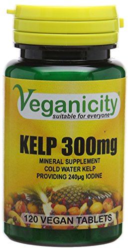 Veganicity Kelp 300mg Slimming Health Supplement - 120 Tablets ( Double pack)