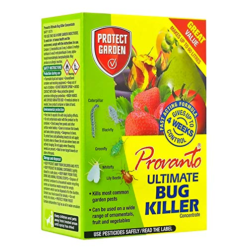 Provanto 86600245 Ultimate Bug Killer, Insecticide Protects For up to Four Weeks, 30ML, Concentrate