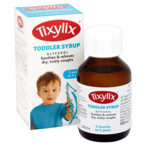 Tixylix Dry Cough Toddler Syrup, 100ml