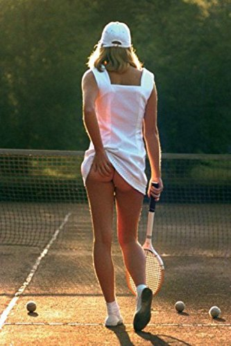 1art1 Posters: Pretty Girls Poster - Tennis Girl, Slip-Off (36 x 24 inches)