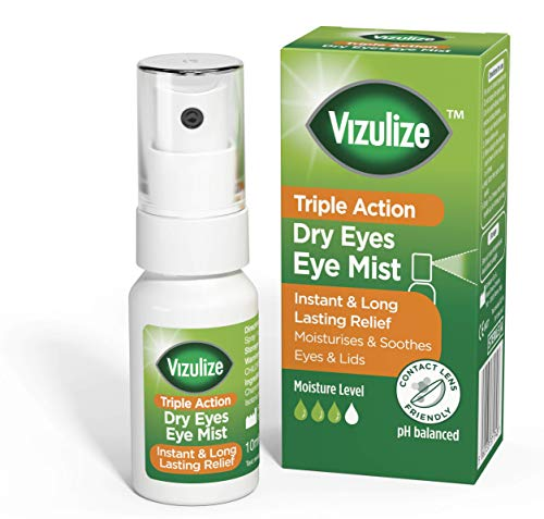 Vizulize Triple Action soothing relief Dry Eye Mist, 10ml