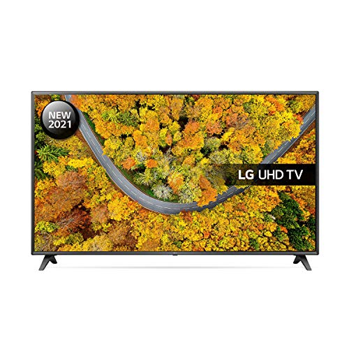 LG 75UP75006LC 75 inch 4K UHD HDR Smart LED TV (2021 Model) with Freeview Play, Prime Video, Netflix, Disney+, Google Assistant and Alexa compatible