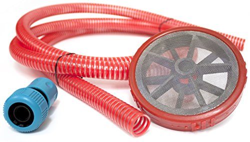 ✦ 2.5m Suction Hose ✦ Self Priming Kit with Universal Female Connector for Static Water Supply Suitable for Pressure Washers