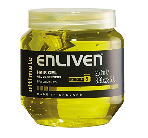 Enliven Ultimate Yellow Hair Gel 250 ml (Pack of 1)