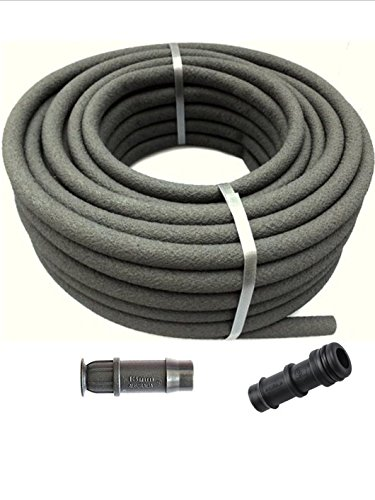 AF Garden Supplies Porous Pipe - Lite 20mx13mm Roll. Leaky, Soaker, Garden Irrigation/Watering Hose. Made in The UK with Recycle Materials