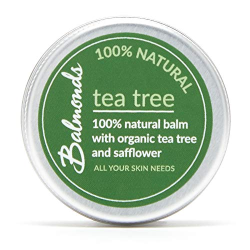 Balmonds Tea Tree Balm for Cold Sores Fungal Conditions Acne Spots and Insect Bites (15ml)