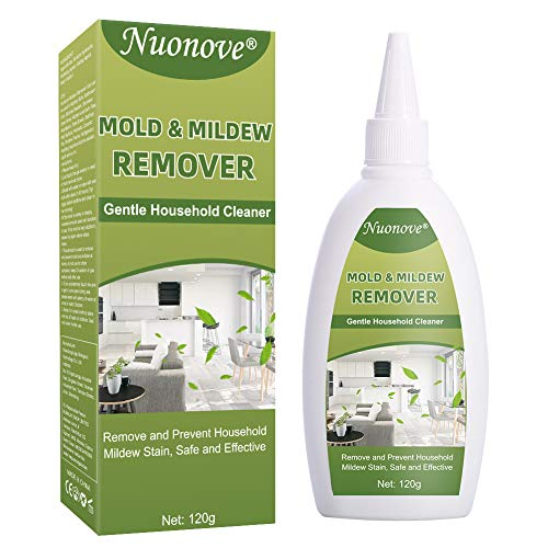 Mold Remover Gel, Mold Mildew Cleaner, Mould Remover, Mould and Mildew Remover, Household Deep Down Wall Remover Cleaner Gel, Remove and Prevent Household Mildew Stain, Safe and Effective 120g