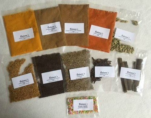 Curry Spice Kit 10 Spices- Free UK Postage World Class Quality (Perfect Refills for an Authentic Indian Spice Tin) by Balsara's Ltd