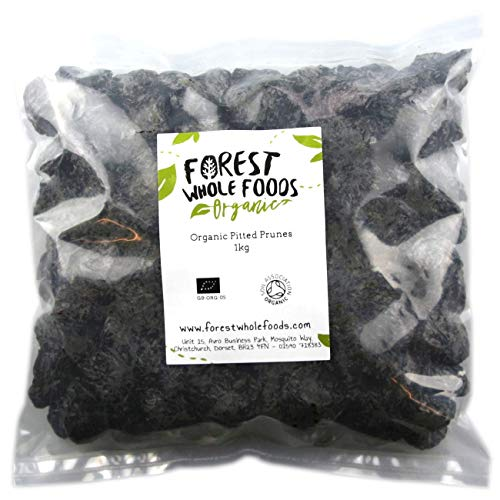 Forest Whole Foods Organic Pitted Prunes (1kg)