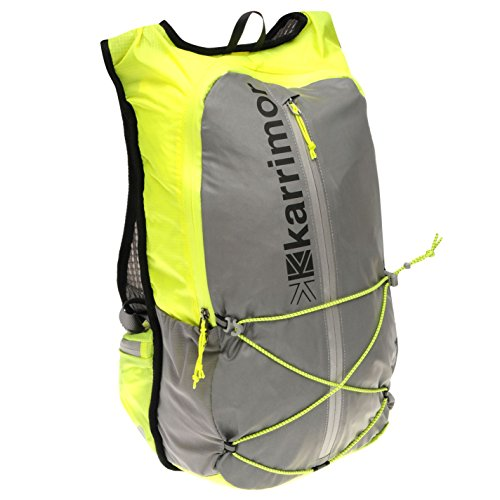 Karrimor Unisex X Lite 15L Running Backpack Reflect/Yellow One Size
