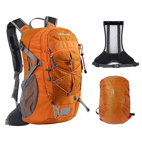 LOCAL LION Cycling Rucksack, Hiking Backpack, Cycling backpack Travel Daypack for Outdoor Running Backpack for Fitness 20-30L