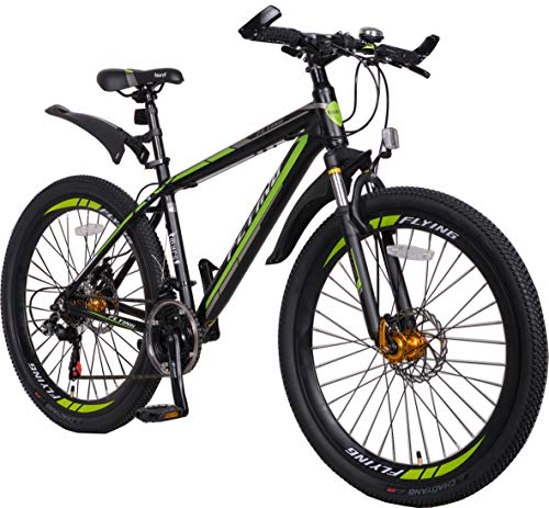 FLYing Lightweight 21 speeds Mountain Bikes Bicycles Strong Alloy Frame with Disc brake and Shimano parts Warranty