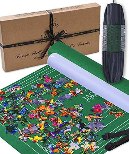 Jaques of London Jigsaw Mat   Easy to Store Roll Up Puzzle Mat for 2000 Piece Jigsaws   Excellent Jigsaw Roll Mat for Childrens and Adults Jigsaws   Quality Since 1795