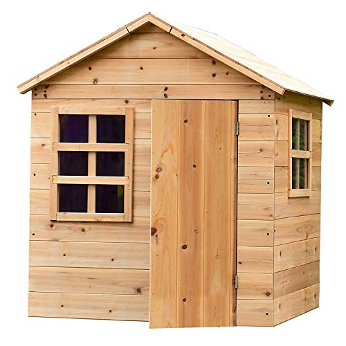 Big Game Hunters Evermeadow House Wooden Playhouse (Playhouse with Floor)