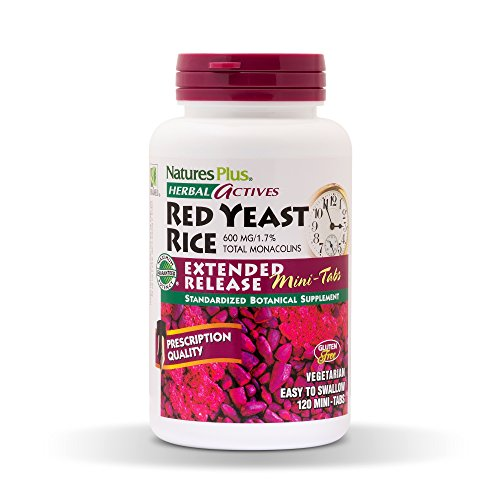 Nature'S Plus Herbal Actives Red Yeast Rice Extended Release 120 Minitabs