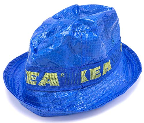 IKEA Limited Edition KNORVA Unisex Bucket Hat Blue The ONLY Authentic IKEA Bucket Hat
