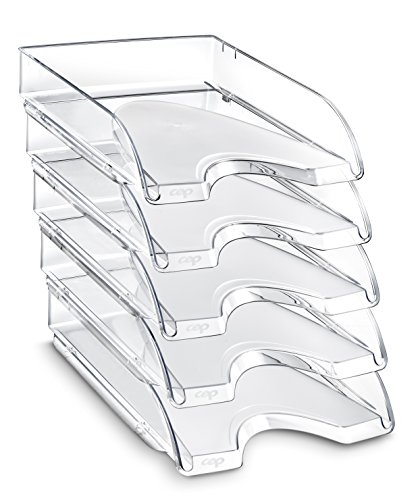 CEP Ceppro Letter Tray Set - Crystal (Set of 10)