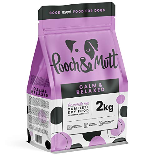 Pooch & Mutt - Calm & Relaxed, Complete Dry Dog Food (Grain Free), Turkey and Sweet Potato, 2kg