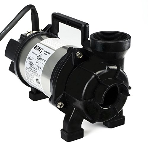 Aquascape Tsurumi 3PL Submersible Pump for Ponds, Skimmer Filters, and Pondless Waterfalls, 3,000 GPH   29975