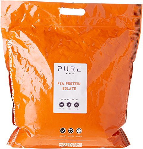 Bodybuilding Warehouse Pure Pea Protein Isolate Powder Unflavoured 5 kg