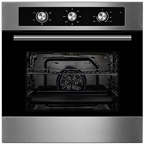 Cookology Built-in Electric Single Fan Oven in Stainless Steel with Minute Minder | COF600SS