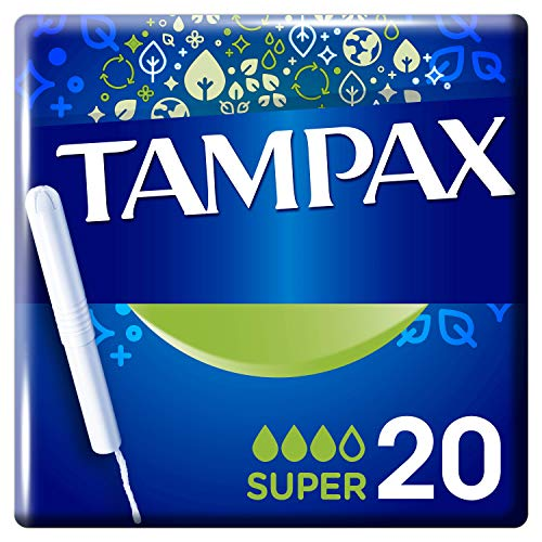 Tampax Super Tampons With Cardboard Applicator X 20