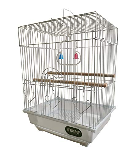 Heritage Small Bird Cage 2015 Warwick Budgie Finch Canary 30x23x39CM Pet Home Travel Cage