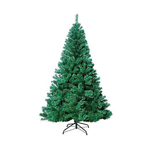VEYLIN 7ft/2.1M Christmas Tree 1600 Tips Bushy Artificial Tree with Metal Stand