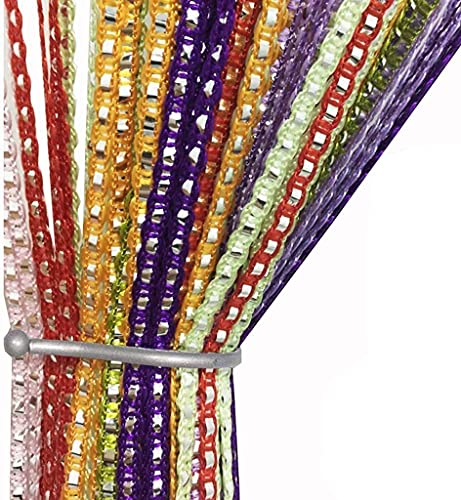 AIZESI String Door Curtain Fly Insect Bug Screen String For Doorways Divider or Window Curtain Panel 39