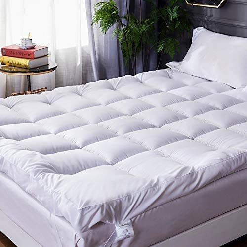 HitlineUK Microfibre Double Mattress Toppers 4
