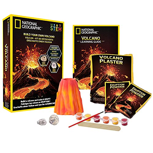 National Geographic JM00602 Build Your Own Volcano Kit
