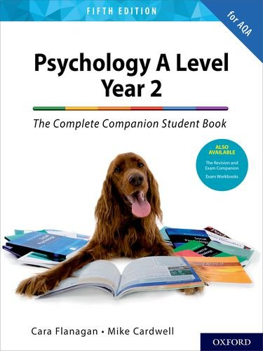 Psychology A Level Year 2: The Complete Companion Student Book for AQA (Complete Companions Fifth Edition for AQA)